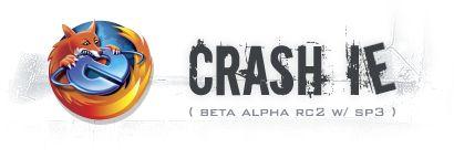 Crash IE