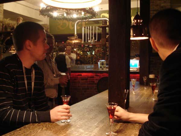 På Beer House i Tallinn