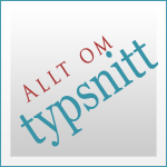 Allt om typsnitt