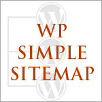 WP Simple Sitemap