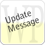 WP Update Message